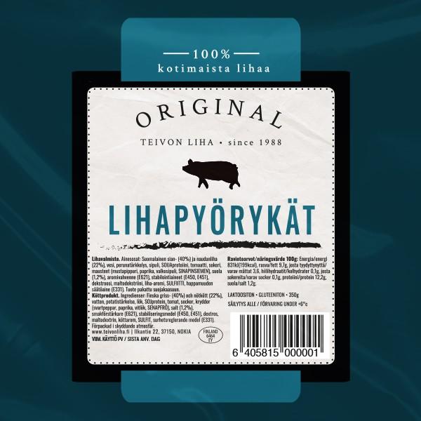 Teivon Liha Original lihapyörykät