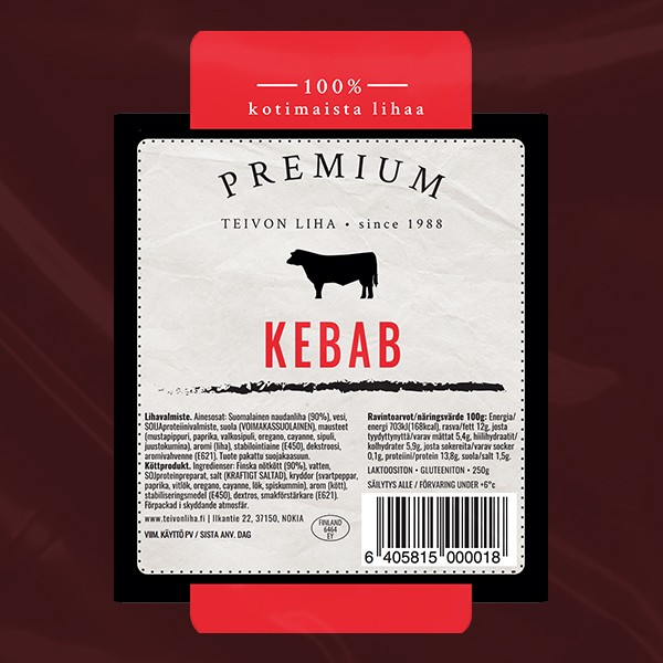 Teivon Liha Premium Kebab